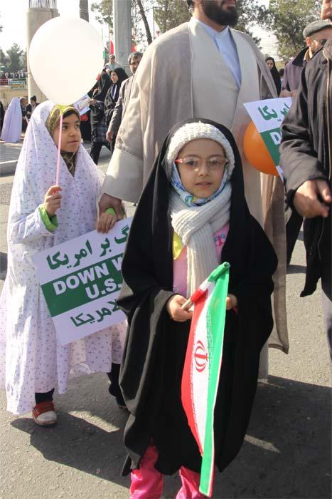 حجاب و راهپیمایی